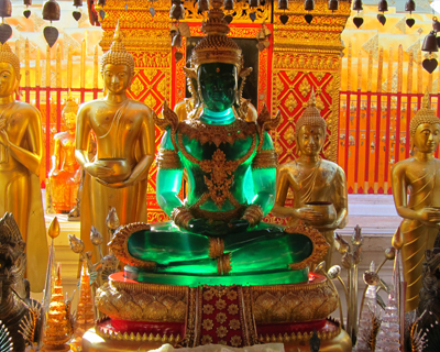 thailand wat doi suthep replica emerald buddha