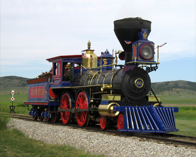 union pacific jupiter replica steam train