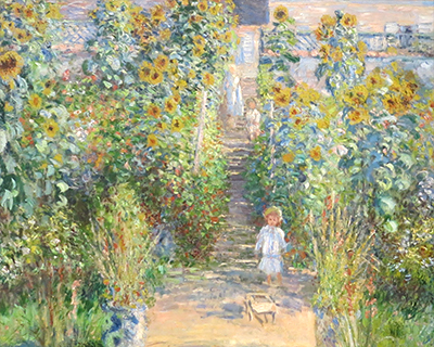 artists garden at veutheuil monet national gallery of art washington dc