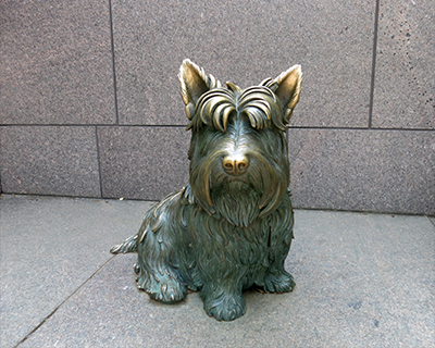 fala dog franklin roosevelt memorial