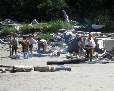 living history day cape disappointment