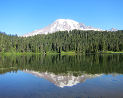 reflection lake mount rainier national park