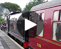 harry potter steam train play video