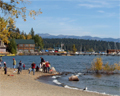 Commons Beach Lake Tahoe