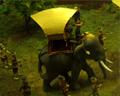 elephant diorama