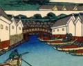 Painting Nihonbashi (Nihombashi) Bridge
