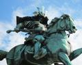 Statue samurai Kusunoki Masashige