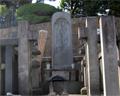 Lord Asano's tomb Sengakuji temple