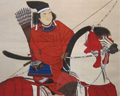 Painting of samurai